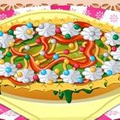 Игра Украшение праздничного пирога