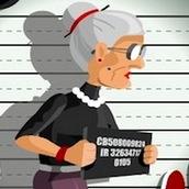 Игра Бешеная бабка сбежала из психушки 4: выбиваем деньги
