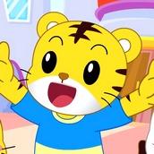 Игра С цифрами: веселье с тиграми
