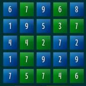Игра С цифрами: собери 21