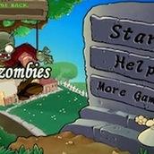 Игра Растения против зомби на реакцию