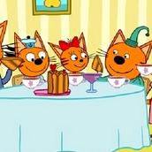 Игра Три кота: 6 Семья в сборе