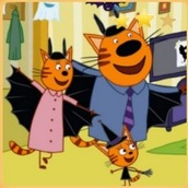 Игра Три кота: Хэллоуин