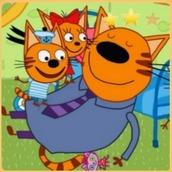 Игра Три кота: Дружная Семья