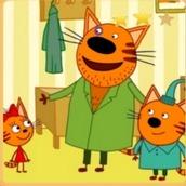 Игра Три кота: Дядя Кекс