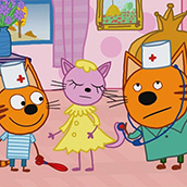 Игра Три кота: в Доктора