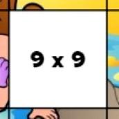 Игра Детские пазлы с таблицей умножения