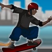Игра Таблица умножения: гонки на скейтборде