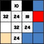 Игра Таблица умножения: мозаика