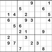 Игра Судоку: классический
