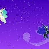 Игра Лунная Пони и принцесса Селестия