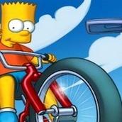 Игра Гонки Симпсонов на велосипедах