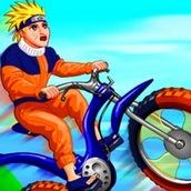 Игра Гонки Наруто на велосипеде