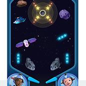 Игра Реактивный Джет: Планетарный пинбол
