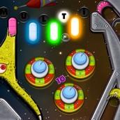 Игра Космический пинбол