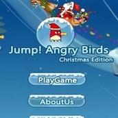 Игра Энгри Бердз: прыгающие птички