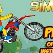 Игра Симпсоны 2: катание на мотоцикле