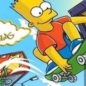 Игра Симпсоны 3: Барт на скейтборде