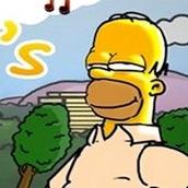Игра Симпсоны собирают пончики