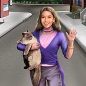 Игра Найди кота в лабиринте