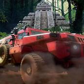Игра Гонки на крутой машине по джунглям