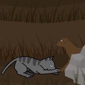 Игра Коты воители на охоте