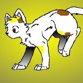 Игра Создай кота воителя