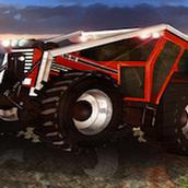 Игра Гонка на тракторах с прицепом