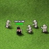 Игра Квадратные люди против зомби 2