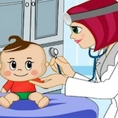 Игра Доктор Эми лечит детей