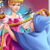 Игра Шить бальное платье для Золушки