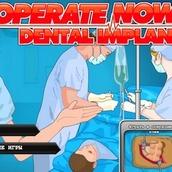 Игра Операция на губе и зубах