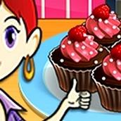 Игра Готовить Шоколадные кексы: Кухня Сары