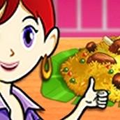 Игра Готовить Бирьяни: Кухня Сары