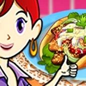 Игра Готовить Шаурму: Кухня Сары