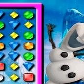 Игра Холодное сердце: 3 в ряд