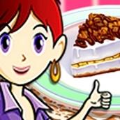 Игра Готовить Банановый торт: Кухня Сары