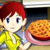 Игра Готовить Пирог из ревеня: Кухня Сары