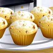 Игра Готовить Банановые кексы: Кухня Сары
