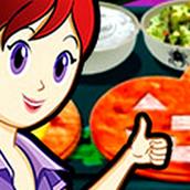 Игра Готовить Кесадилья на хэллоуин: Кухня Сары