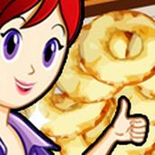 Игра Готовить Бенье из яблок: Кухня Сары