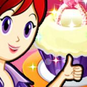 Игра Готовить Свадебные кейксы: Кухня Сары
