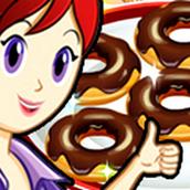Игра Готовить Пончики: Кухня Сары