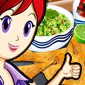 Игра Готовить Начос и дип: Кухня Сары