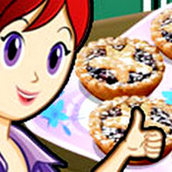 Игра Готовить Рождественские пирожки: Кухня Сары