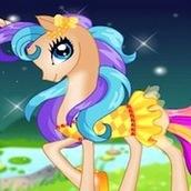 Игра Пони 7 одень принцессу