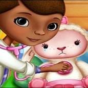 Игра Доктор Плюшева лечит животных