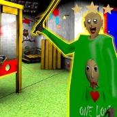 Игра Балди Пазл: Страшный Балди