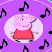 Свинка Пеппа повторяет мелодию