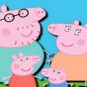 Игра Три вряд со Свинкой Пеппой